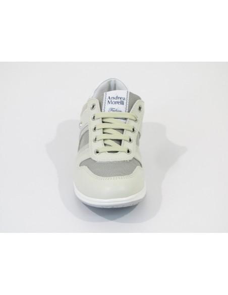andrea morelli junior sneakers beige