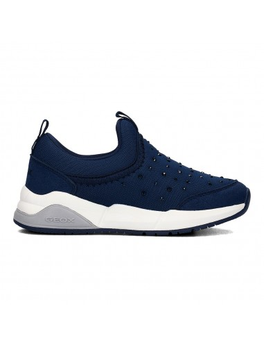 geox slip on navy