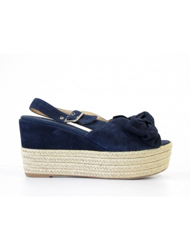 frau sandalo blu