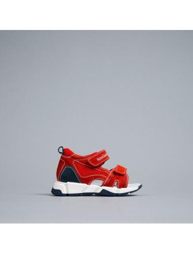 nero giardini junior sandalo rosso