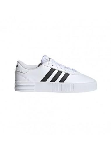 adidas sneakers white black