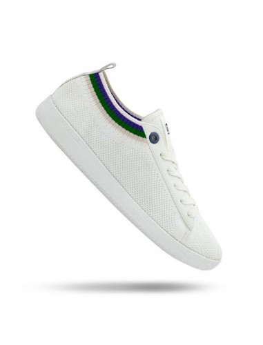 Vespa sneakers pop bianco verde