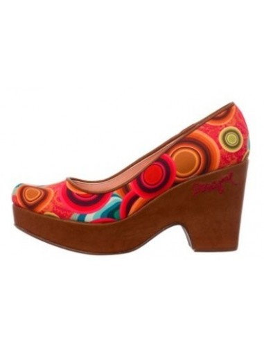 Desigual decollete multicolor