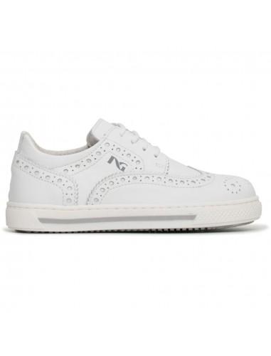 nero giardini junior sneakers bianca