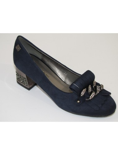 laura biagiotti decollete navy