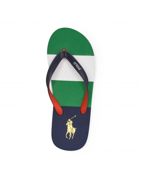 polo ralph lauren infradito multicolor
