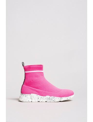 twinset stivaletto pink