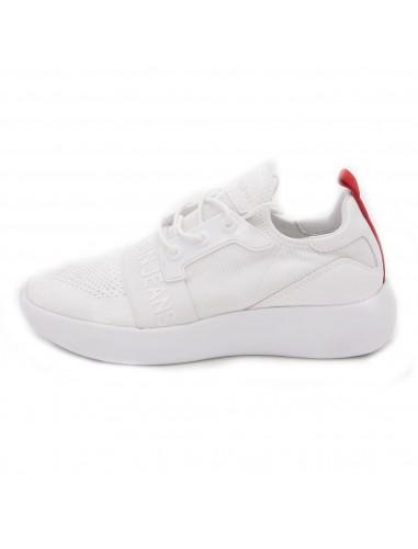 calvin klein jeans sneakers white