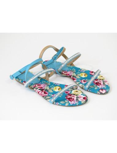 emanuela biffoli sandalo azzurro